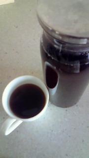 銀座のプーアル茶