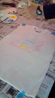 Tシャツを作りました。