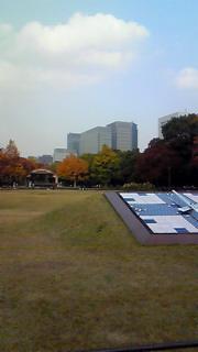秋色、日比谷公園