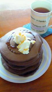 チョコホットケーキ!5段
