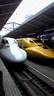 東海道のイエロー新幹線