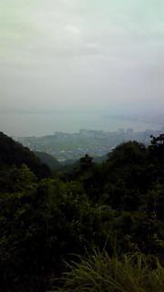比叡山より琵琶湖を臨む