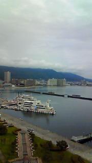 琵琶湖、朝と夜