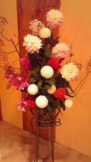 スタジオのお花***<br />  フラワーサロンミキアートスクール