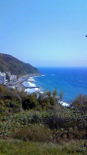 でかい!青い!海