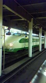 グリーンラインの新幹線