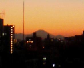 千駄木の富士山