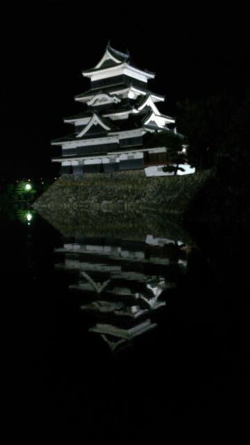 2つの松本城