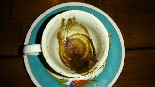 コーヒー占い