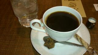 老舗のコーヒー