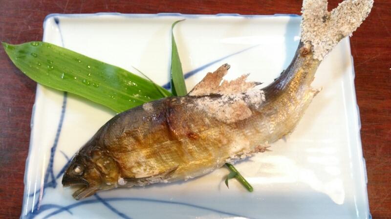 鮎食べるなら…