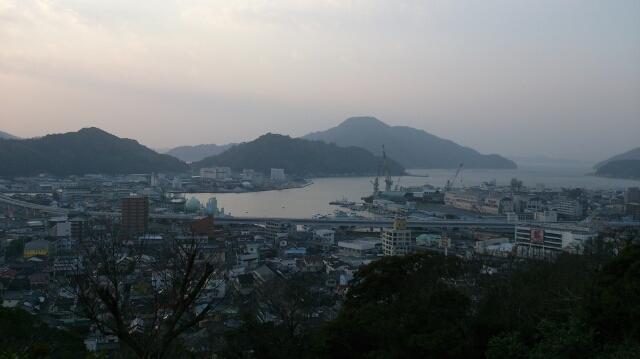 伊達家の統治した宇和島の街