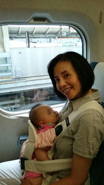 初めての新幹線!