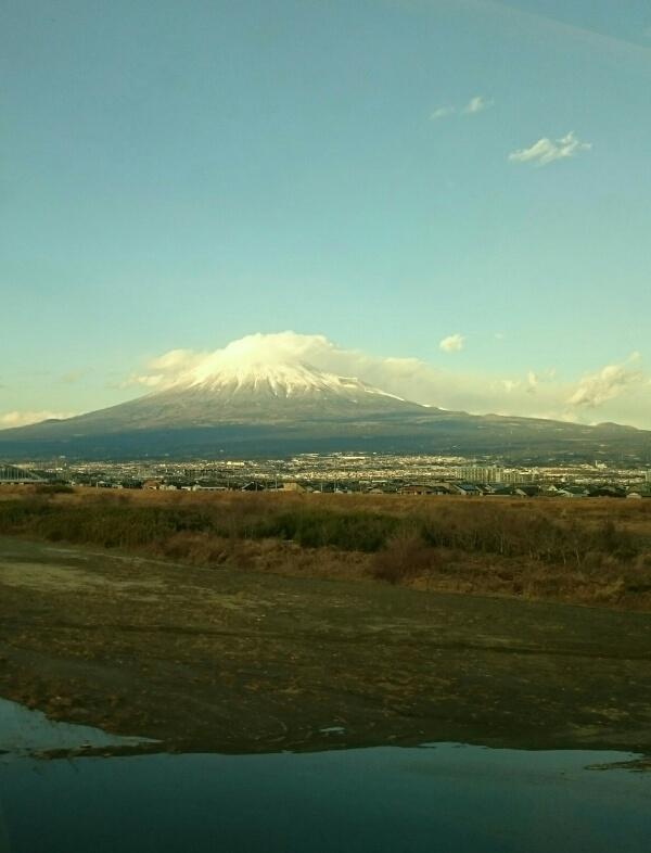 なかなかの富士山