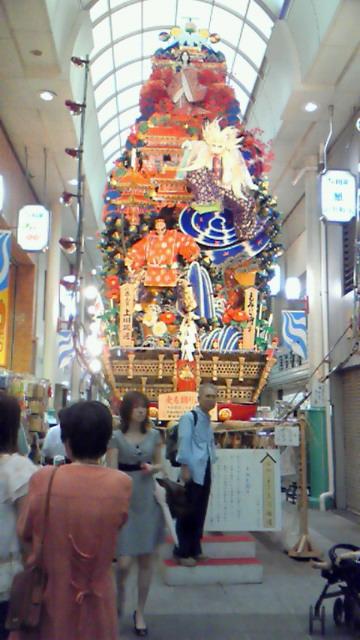 博多祇園山笠、大きい!