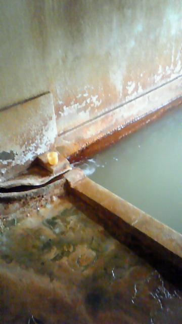 炭酸泉の温泉!