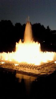 上野公園の夜