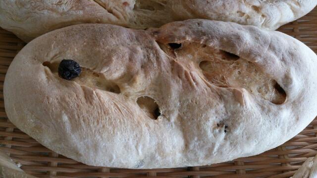 まずまずのブドウパン