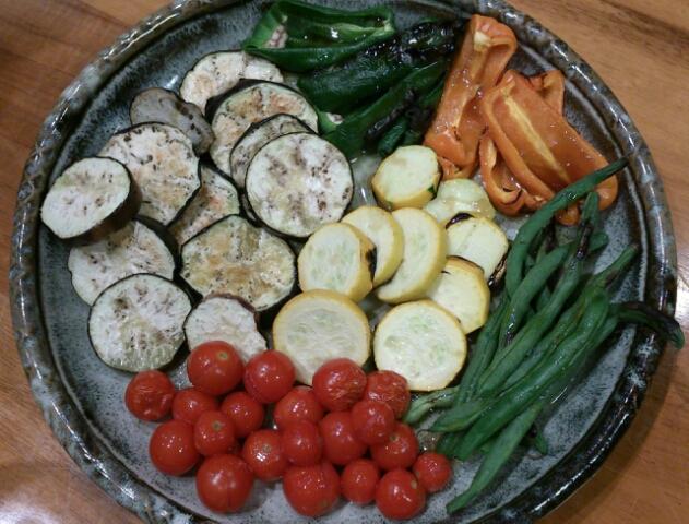 夏野菜、元気!