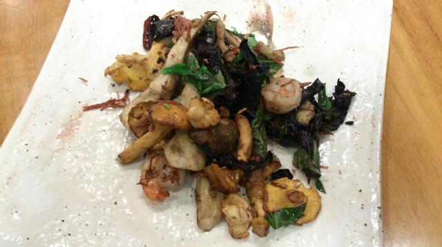 セップ茸とジロール茸とトランペット